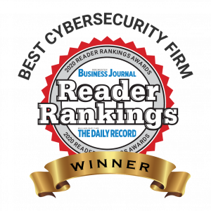 Rochester Business Journal Reader Rankings Award Best Cybersecurity Company Rochester NY