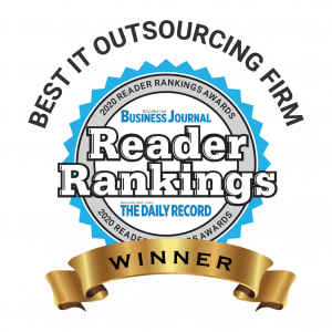 Rochester Business Journal Reader Rankings Award Best IT Outsourcing Company Rochester NY
